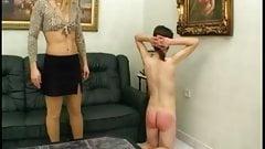 Lezdom - Mistress and skinny slave 2