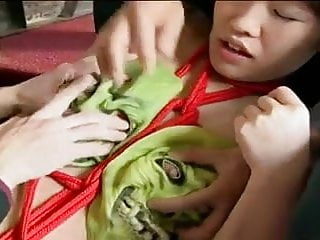 Japanese girl tied up for your service-by PACKMANS