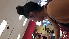 Cute Latina Group Flexin At Target