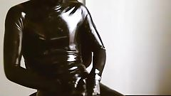 Latex orgasm
