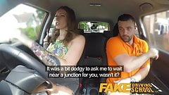 Fake Driving School Ava Austen Gets Cum-pensation