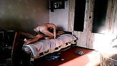 Russian couple sex on hidden camera