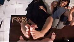 Anaki First Footjob Arab