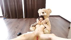 beautiful camgirl have creamy and glorious squirts on cam