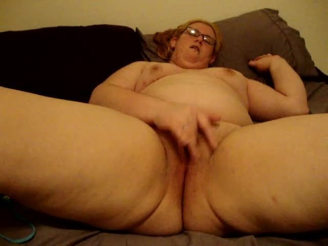 Slutwife plays with toys for Lover.