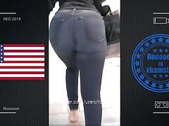 beautiful teen - jeans booty (2018) -USA