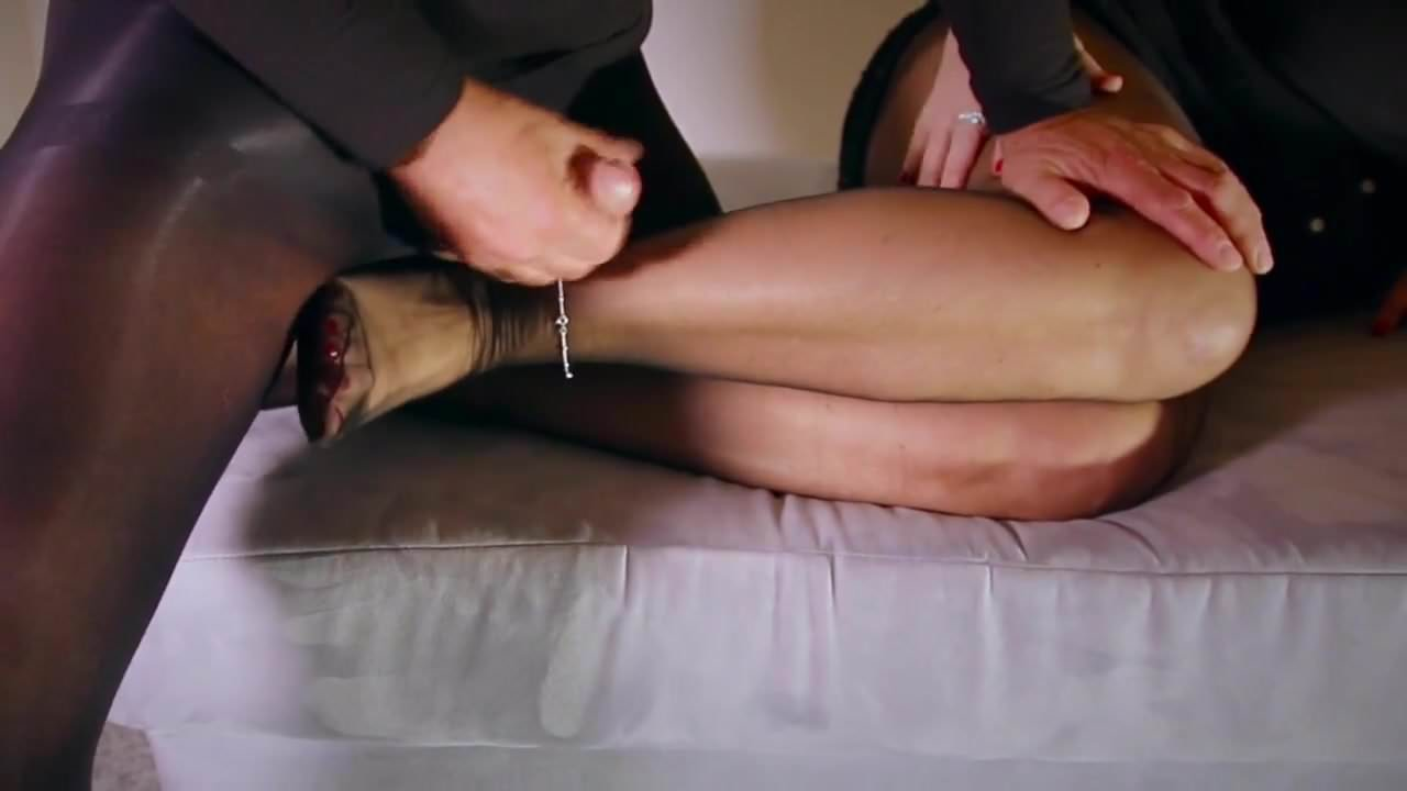 Silk stocking sex voyeur #10