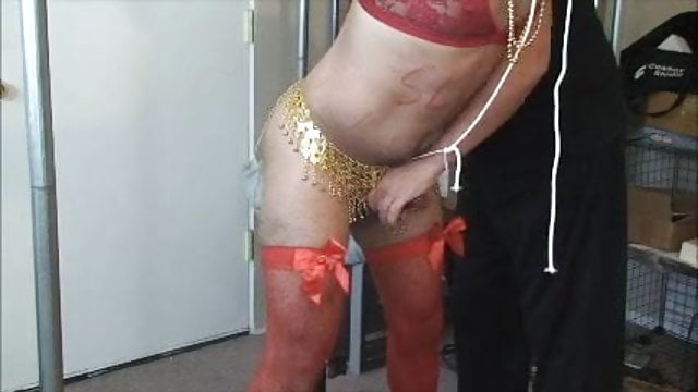Gay impaled on dildo