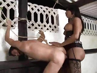 Black Shemale HUNG Camila -GunSlinger-