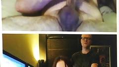 Sam and Keith cam2cam cum's Thumb