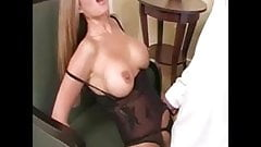 Tall Hot Milf sucks cock and takes a Mouthfull