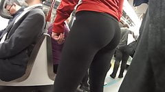 Fit girl spandex