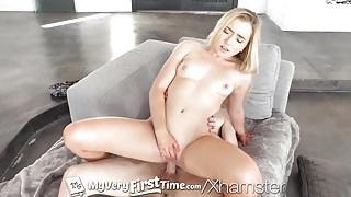 MyVeryFirstTime Blonde step sister Dakota Bleu fucked