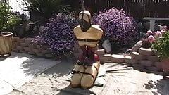 very good bondage and a beautiful corset