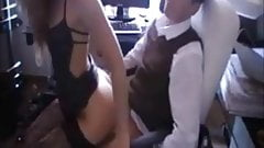 hot amateur fucked in office