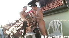 Can you handle the heat of your first bisexual threeway