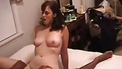 Hot brunette loves Big black cock