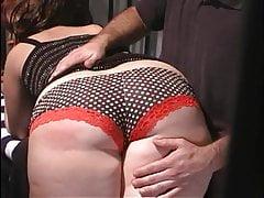 Wife spanked in jail