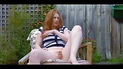 Redhead Masturbates with Explosive Orgasm