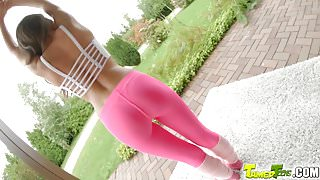 TamedTeens An 18 year old with puffy nipples gets her tight