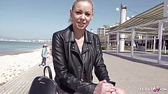 GERMAN SCOUT - Tourist Teen Julia Public Agent Fuck on Malle
