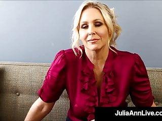 Potty Mouth Milf Teacher Ms Julia Ann Gives Joi