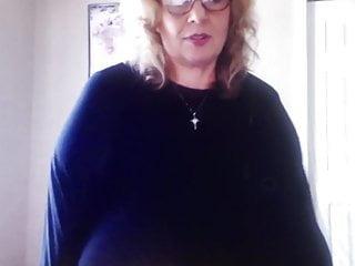 Huge American Granny Breast