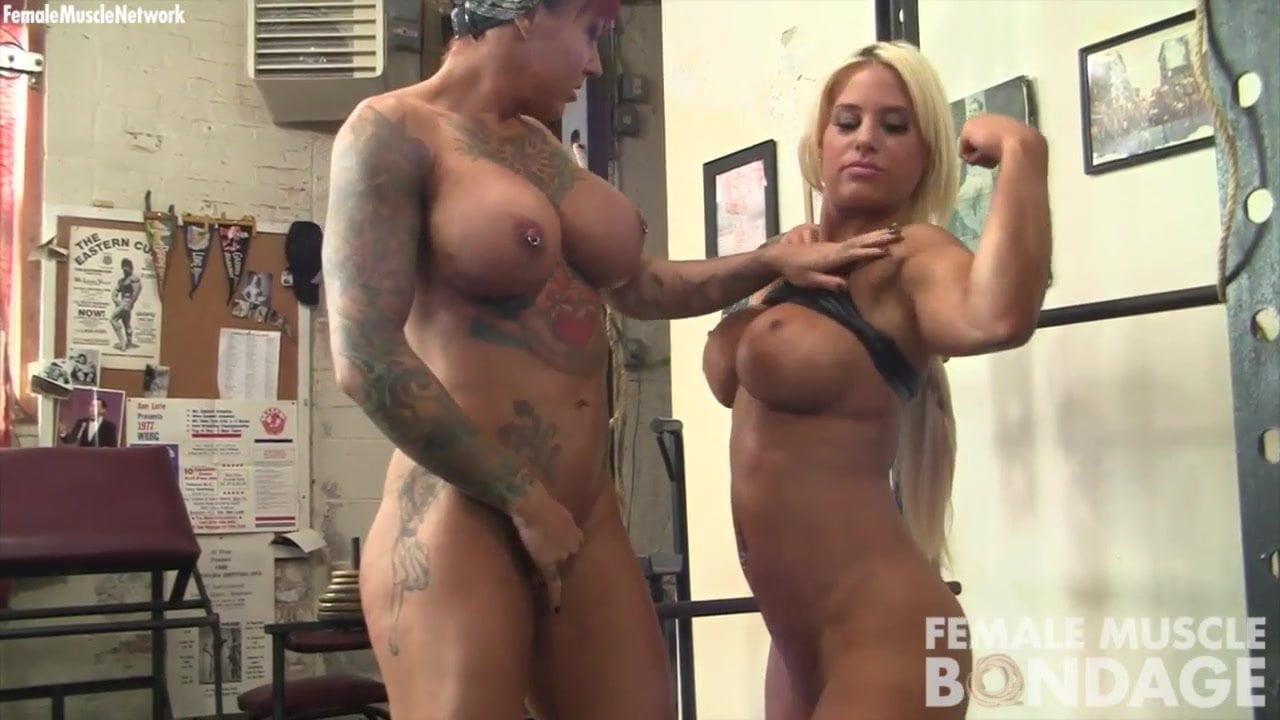 dani andrews and megan avalon girl girl workout