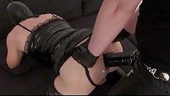 BIG strap femdom