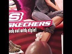 Female Skechers cum tribute request