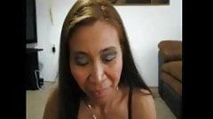 Gina Jones Sucking My Cock While Husband Watches.
