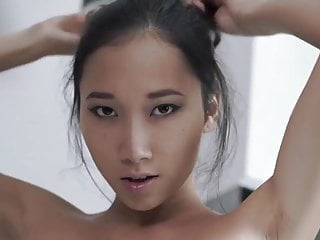 Asian Teen Loves it from Behind