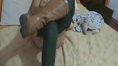 MY EXCITED WIFE TAKES OFF HER BIKINI - FUERA TANGA ESPOSA