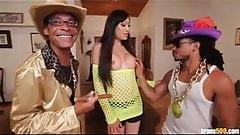 Monstercock Ramon and Castro Supreme fuck sexy Venus Lux