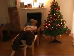 Favourite ,mature celebrates Christmas