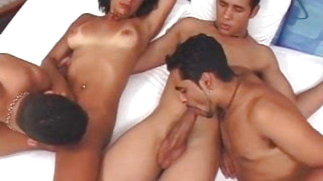 Seksowne lesbijskie hentai porno