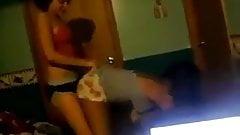 Sexy dancing teens