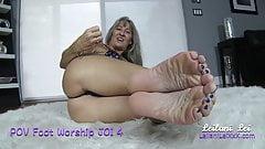 POV Foot Worship JOI 4 TRAILER