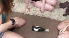 Amber, Bex & Maisie play Strip Spin-the-Bottle