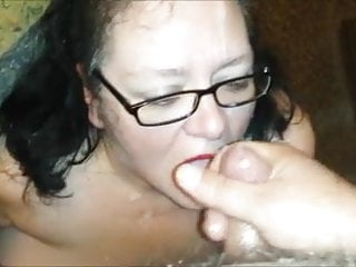 Real Homemade: Cum Slut Wife Facials IV