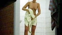 Shower room spy cam