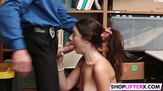 Cutie Lily Gets The Right Punishment For Theft