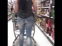 Sexy JEAN BOOTY Shopping!!