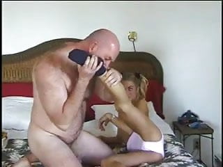 Teen Sucking Matures Cock & Gets Facial,By Blondelover