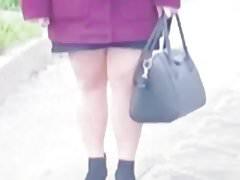 Slut turkish Aydin in Shiny Brown pantyhose