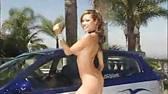 kinky tuningcar wash girl
