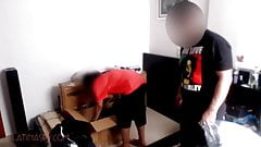 latina maid with huge ass takes a pounding