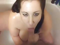 Busty BBW Loves Golden Shower