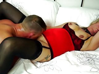 Amateur mature mom suck and fuck young big cock