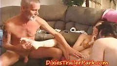 DADDYS Swinger Family goes BI and shares COCK  CUM and PUSSY